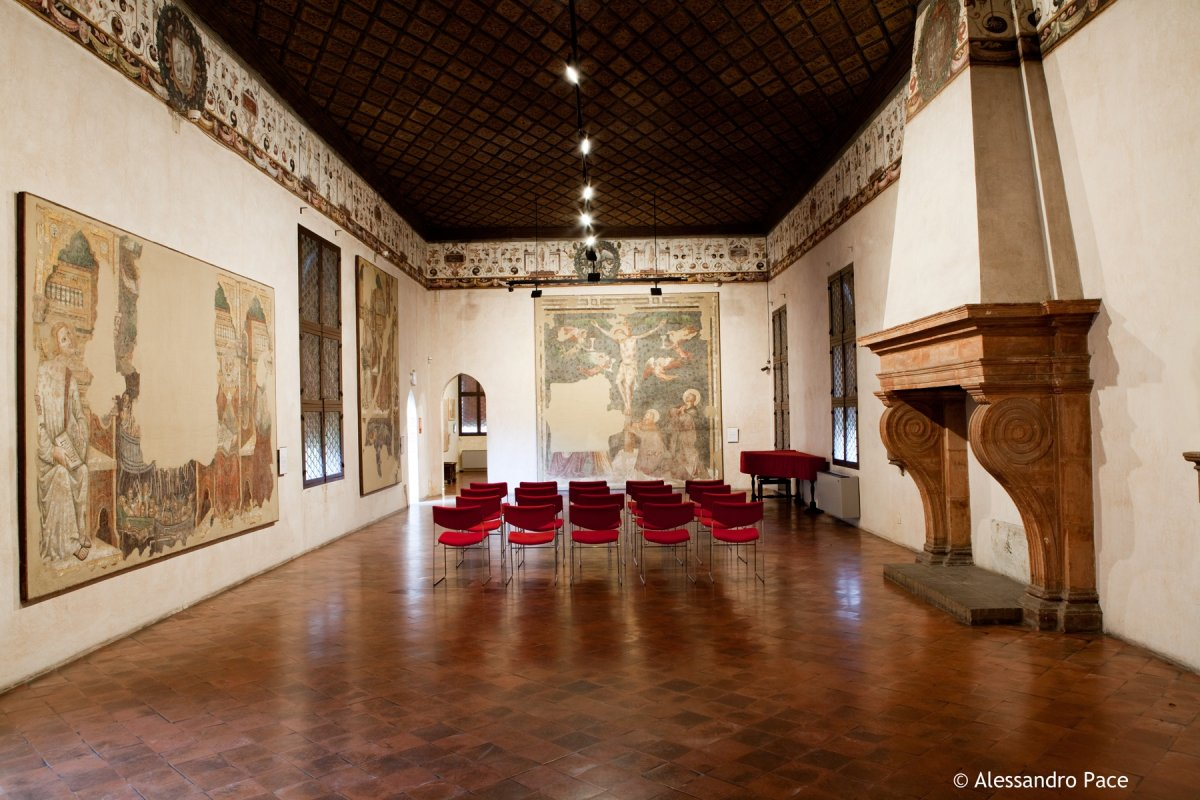 Salone d'onore - @MuseoCasaRomei